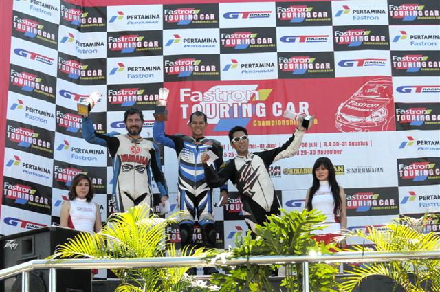 Suzuki Jayadi Denso Racing Team Podium
